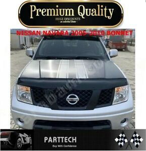 Fits for NISSAN NAVARA 2005-2010 BONNET WIND STONE DEFLECTOR PROTECTOR *NEW*