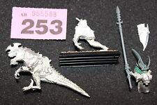Juegos taller Warhammer elfos oscuros Elf Dreadlord en uno de conversión de metal frío