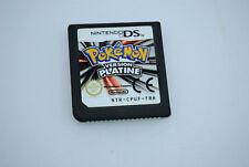 Jeu POKEMON PLATINE pour Nintendo DS (cartouche seule) VERSION FRANCAISE
