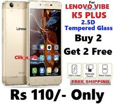For Lenovo Vibe K5 Plus 2.5D Tempered Glass( BUY 2 GET 2 FREE )