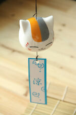 Natsume Yuujinchou Nyanko-sensei Ceramic Wind Bell  Hangings Door Decoration