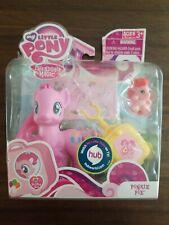 My Little Pony: FiM 2011 Pinkie Pie w/ Hedgehog Friend, Suitcase & Stickers NIB