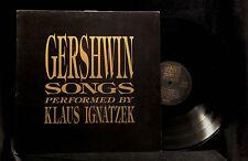 Klaus Ignatzek-Gershwin Songs Performed By-Nabel 4631-GERMANY