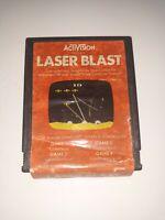 LASER BLAST - ACTIVISION AG-008 - 1981 - ATARI 2600 GAME