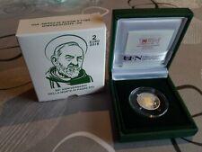 Coffret 2 EURO Belle épreuve Proof du Vatican 2018  NEUF !!Vatikan Vaticano