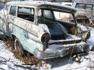 57 58 1957 1958 FORD Fuel Door Assembly  RANCHERO or WAGON  -PARTING OUT CARS-