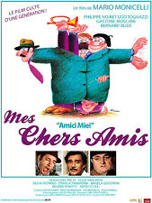 Affiche 120x160cm MES CHERS AMIS (AMICI MIEI) 1975 Tognazzi Noiret Moschin R NEU