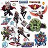 AVENGERS ASSEMBLE 28 Wall Decals Iron Man Hulk Thor Captain America Room Sticker
