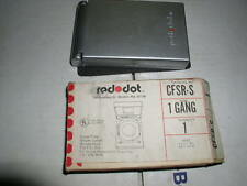 Red Dot Outdoor Receptacle Cover CFSR-S
