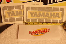 VINTAGE Yamaha Factory decal  YZ  IT DT RT YZF motocross  AHRMA 125 250 360 400