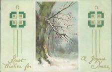 Christmas joy best wishes valentine 1917