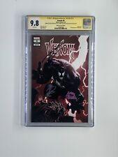 Venom #9 CGC 9.8 SS 3X Philip Tan, Cates & STEGMAN 1st App Dylan Brock Variant