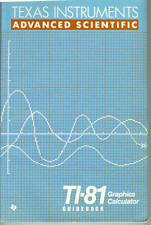 Texas Instruments Ti-81 Guidebook