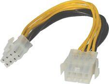20cm 8-Pin ATX EPS PSU de fuente de alimentación Cable de extensión