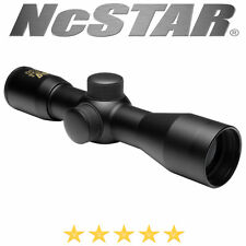 NcStar Tactical Series 4x30 Compact Scope Blue Lens Includes Lens Cover SC430B