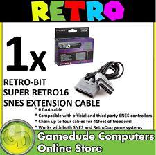 Retro-bit Super Retro16 SNES Joypad Extension Cable 6FT RB-SNES-1736 [03]