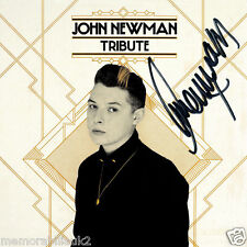 John Newman – Tribute CD Album NEW and SIGNED Autographed + PROOF