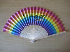 Gay Pride Rainbow Paper Fan Lgbt Lesbian Gay