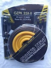 Kit cavi Ground Zero positivo 35mm GZPK 35x-ii x Amplificatore RCA Alimentazione
