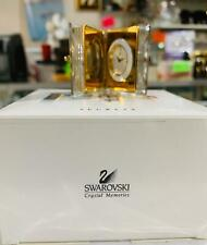Swarovski Crystal Memories Secrets Book Clock Figurine 9448 000 011