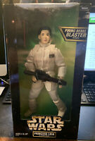 """Star Wars Action Collection 12"""", Princess Leia in Hoth Gear; 1998 Kenner MINT"""