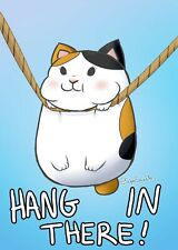 """Hang in There ( cat ) 24 X 36"""" Poster"""