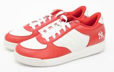 RARE REEBOK S. CARTER RED WHITE MLB AUTHENTIC NY SNEAKERS - OWNED BY NFL PLAYER