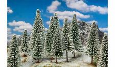 More details for faller snow covered fir trees (18) ho gauge scenics 181580
