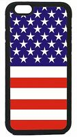 USA American Flag New Black or White Case Cover for iPhone 4s 5 5s 5c 6 6 Plus