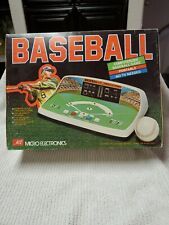 New ListingMicro Electronics Computerized Baseball Video Game Vintage 80s Toy