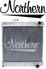 Northern 205059 Aluminum Radiator 1964-1966 Ford Mustang w M/T Right-side Hoses