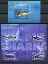 MALEDIVEN MALDIVE 2004 Haie Sharks Fische Fishes 4402-4405 + Block 580 **