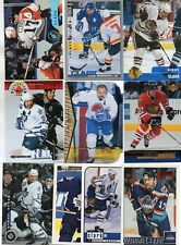 10-wendel clark card lot maple leafs islanders blackhawks nordiques nice mix