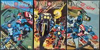 Punisher & Captain America: Blood And Glory #1-3 Mini Series NM Marvel