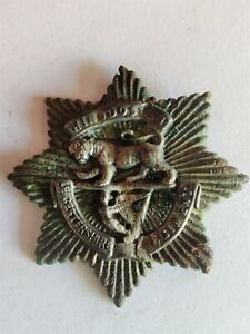 Leicestershire Regiment, Victorian Officers' forage cap badge
