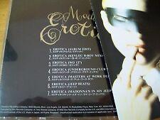 MADONNA EROTICA CD SINGOLO 7 TRACKS JAPAN