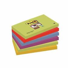 Post-it Super Sticky 76x127mm Marrakesh Notes (Pack of 6) [3M40126]