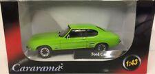 Ford Capri - Green 1:43 SCALE Diecast Metal Model, 1/43 Scale