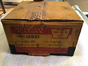 "HILLMAN 1950/4 10.45 HP Hepolite 0.020 SET OF 4 PISTONS  RSW 10931 2.9/16"" NOS"