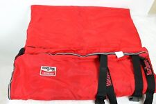 Vintage Marlboro Unlimited Sleeping Bag Camping Red Buffalo Check Flannel