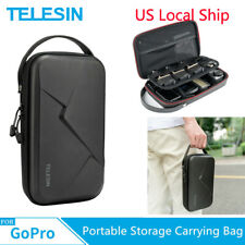 TELESIN Portable Storage Carrying Bag Case Waterproof for GoPro Osmo Action US