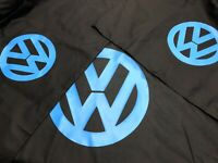 vw style logo black double duvet quilt cover + 2 pillowcases NEW Colour Choice