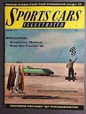 1957 Sports Car Illustrated Magazine Vol.2 #7, January 1957 RARE!! Awesome L@@K