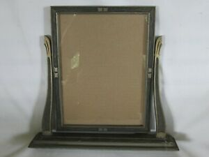 Art Deco Picture Frame, Wood with Design, Tilt Swing Style