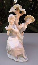 Lladro NAO - Defending the Dove - Figurine - Spain - Couple Boy Girl on Tree
