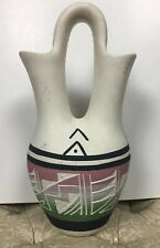 UTE Native American Wedding Vase Signed By Artist L. Posey