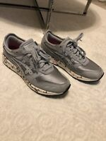 Asics Womens Gel lyte Silver Grey Trainers - Size 5.5 UK