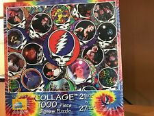 "SUNS OUT GRATEFUL DEAD ""COLLAGE"" 1000 PIECE JIGSAW PUZZLE BRAND NEW!"