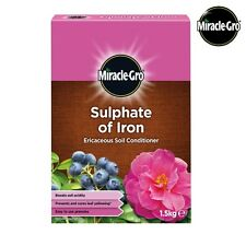 Miracle Gro Sulphate of Iron Ericaceous Soil Conditioner 1.5kg Free Delivery