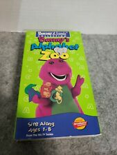 Barney - Barney's Alphabet Zoo VHS Rare Video Tape Classic Collection